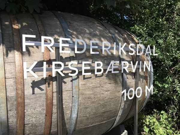 Rundvisninger hos Frederiksdal Kirsebærvin