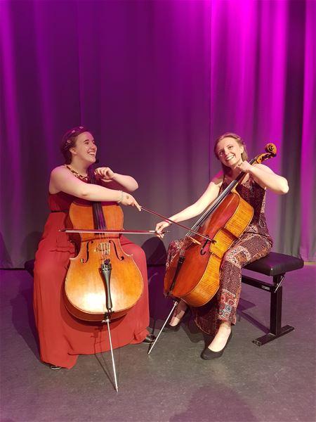 EN-Duo Erika Persson och Nina Granat