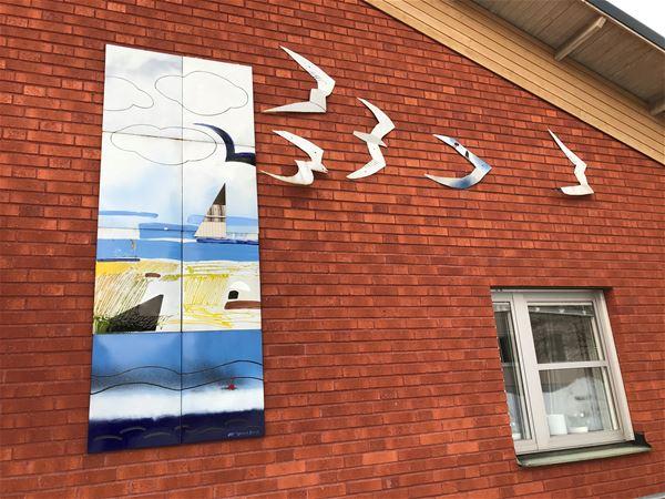 Om Sandvikens offentliga konst och lansering av mobilapp