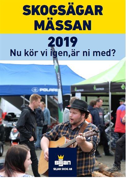 Siljan Skog Skogsägarmässan 2019 5 september