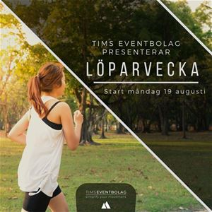 © Copy: Tims eventbolag, Tims löparvecka!