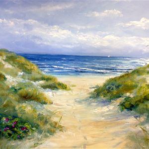 Österlenmålningar - Kathrin Bernekorn