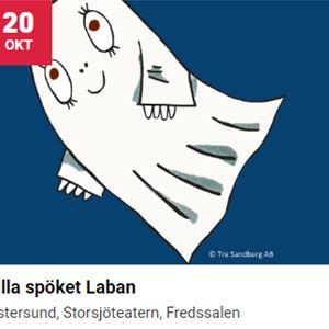 © Scenkonst Östersund, Lilla spöket Laban