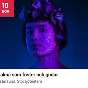 © Scenkonst Östersund, Nakna som foster och gudar