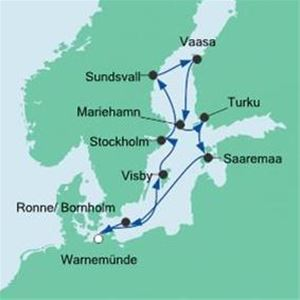 Aida Cruises kommer till Sundsvall
