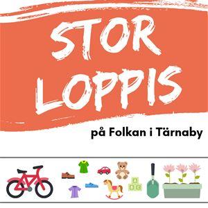 Stor loppis i Tärnaby