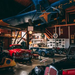 Family day at the motor museum
