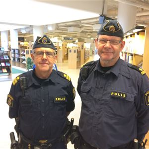 Expertlunch - Poliserna på stan