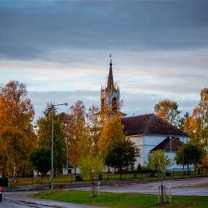 www.ricke.se,  © Malå kommun, Högmässa - Malå församling