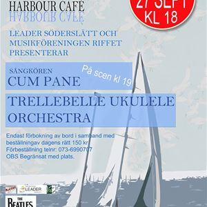 Musik - Cum Pane och Trellebelle Ukulele Orchestra