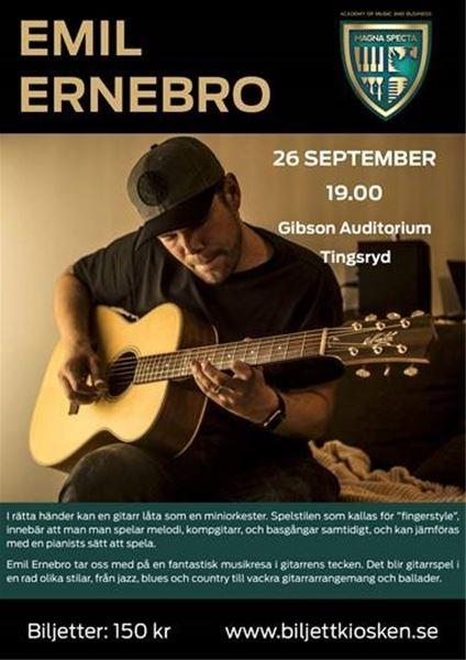 """Konsert: """"Emil Ernebro"""""""