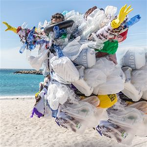 Plastbanta - sy din egen påse, kasse eller bag