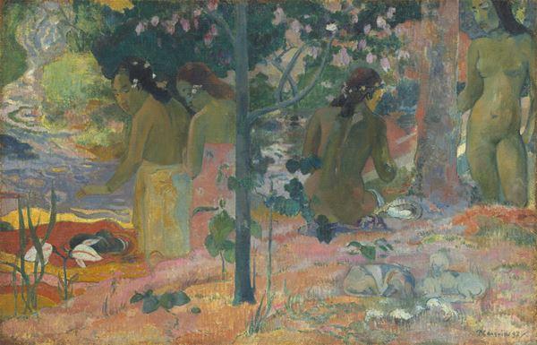 Konst på Visir Bio -  Gauguin på Tahiti - ett förlorat paradis