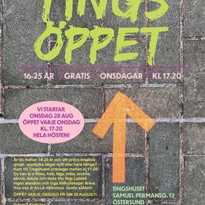 © Copy: Östersunds kommun, Tingsöppet