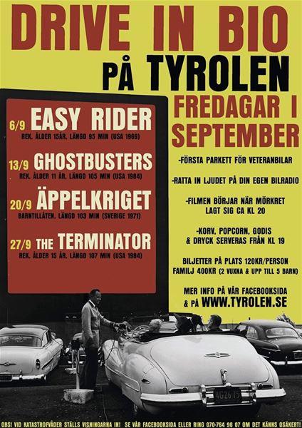 Drive-in-bio på Tyrolen
