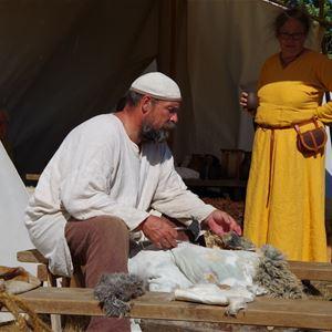 Vikingabyn Valshall höstmarknad