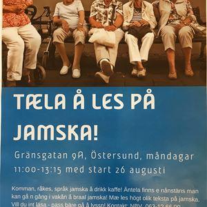 Taela å Les på Jamska!