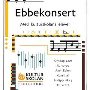 Axel Ebbe konsert
