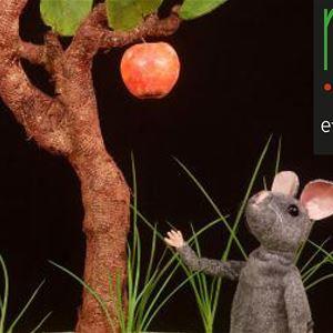 Musen och äpplet - barnteater från 2 år