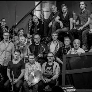 © Copy; Jazz i Jemtland, Jazz i Jemtland - Norrbotten Big Band med Bobo Stenson