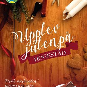 © Julen på Högestad, Julmarknad på Högestad Gods