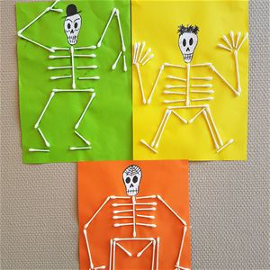 Höstlov: Halloweenpyssel