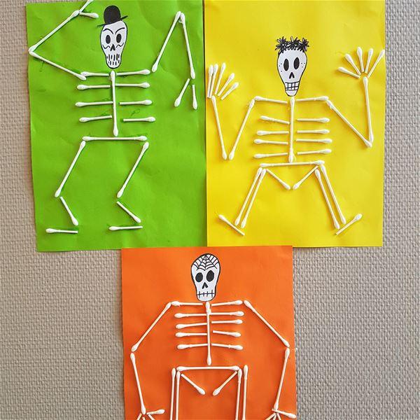 Höstlov: Skelettpyssel