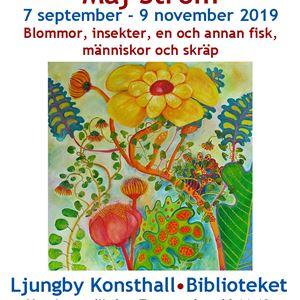 Kunstausstellung: Maj Ström