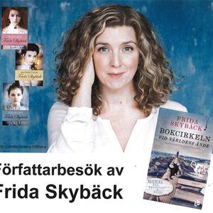 Författarbesök av Frida Skybäck