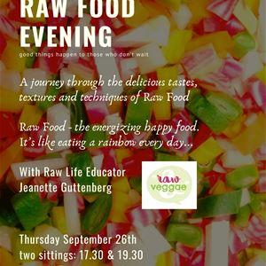 Muff: Raw food evening