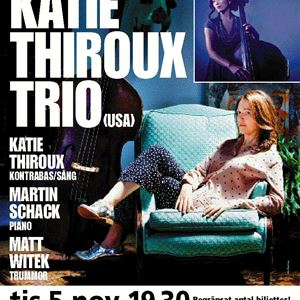 Jazz i Jemtland - Jazz på Residenset - Katie Thiroux Trio