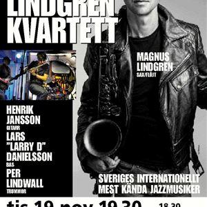 © Copy; Jazz i Jemtland, Jazz i Jemtland - Magnus Lindgren kvartett