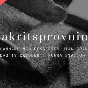 © Copy: Norra Station, Lakritsprovning