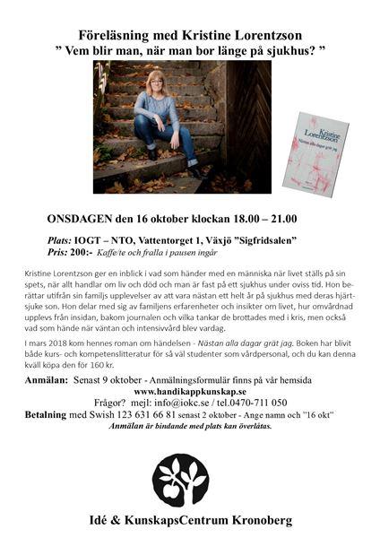 Föredrag: Kristine Lorentzson