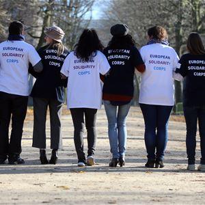 Information om att bli volontär i Europa