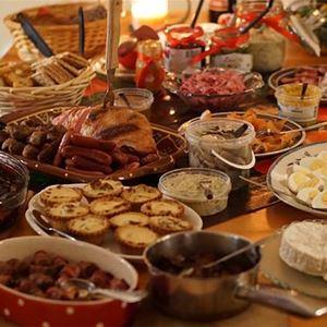 Julbord på restaurang Ladan i Urshult