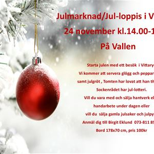 Vittaryds julmarknad och julloppis