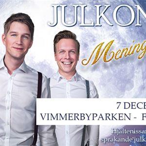 Julkonsert - Erik Linder, Fredric Wide & Ludvig Jerner