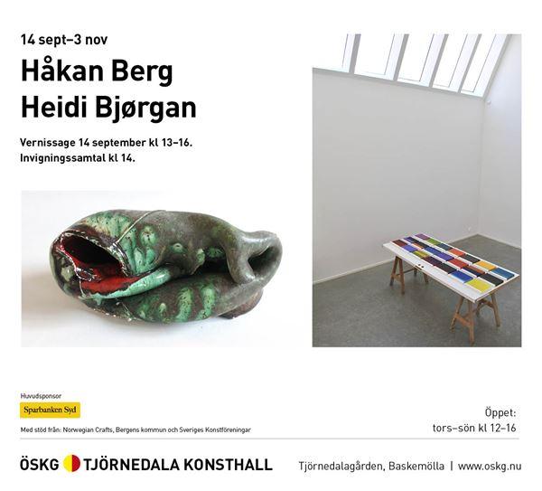 Håkan Berg och Heidi Bjørgan