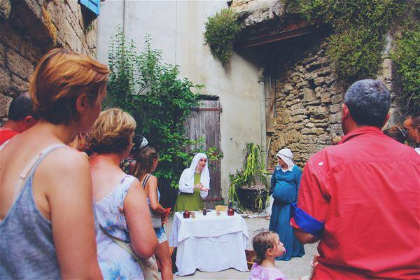 "French guided tour: ""La Dame de Carcassonne recrute"""