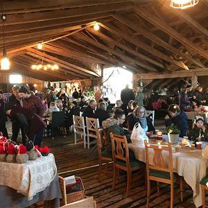 Julmarknad på Henriks skullan i Sonboda, Föglö