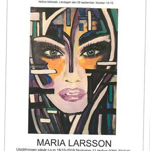 Konstutställning - Maria Larsson