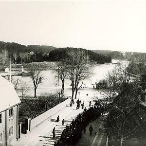 Visning av ovanliga och sällan visade vykort från Södertälje