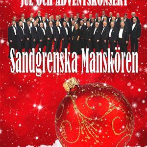 Jul- och adventskonsert med Sandgrenska Manskören