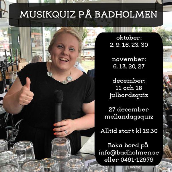 Musikquiz på Badholmen