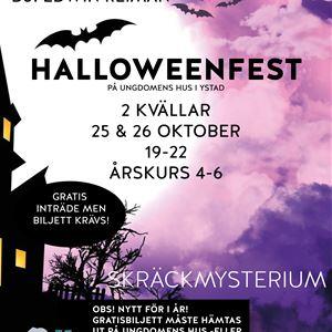 Halloweenfest på Ungdomens Hus