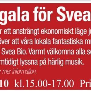 Stödgala för Svea Bio