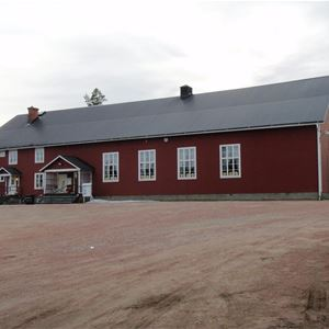 Klädloppis Bjuråkers bygdegård Bricka