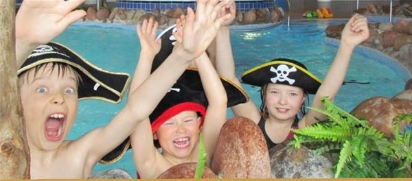 Children's Pirate Day at Mariebad swimming centre