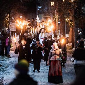 Jul på Torekällberget